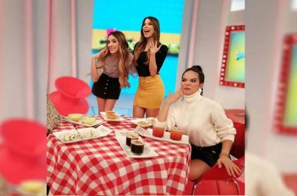 Violeta Bergonzi, Dominica Duque y 'Mafe' Romero