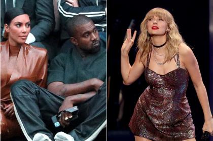 Kim Kardashian y Kanye West / Taylor Swift