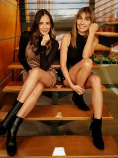 Laura Acuña y Adriana Betancur