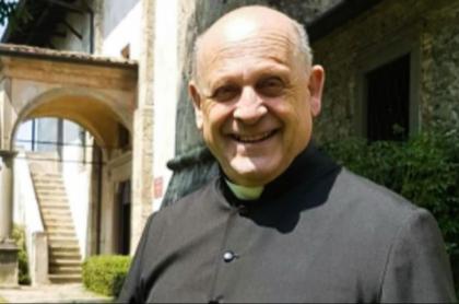 Sacerdote italiano que murió.