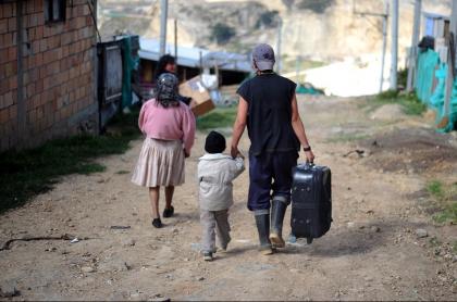 Pobreza en altos de Soacha, Cundinamarca
