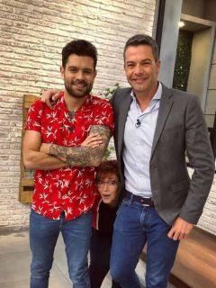 Juan Diego Vanegas, Yaneth Waldman e Iván Lalinde