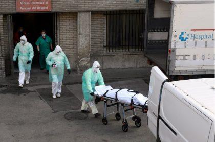 Ambulancia muerto