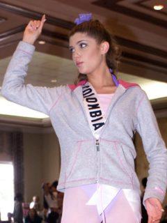Andrea Noceti, exreina y actriz.
