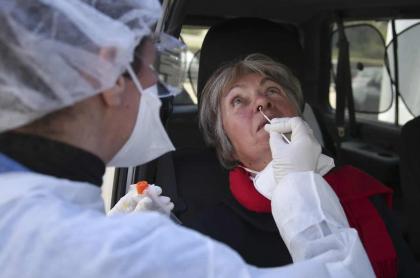 Prueba de coronavirus.