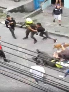 Ataque a policias en Risaralda