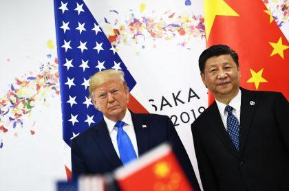 Xi Jinping, presidente de China, y Donald Trump