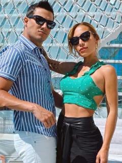 Pipe Bueno y Yeison Jiménez, cantantes, y Luisa Fernanda W, 'influencer'.