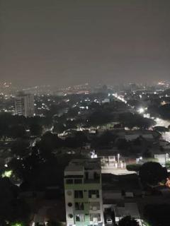 Humareda en Cúcuta