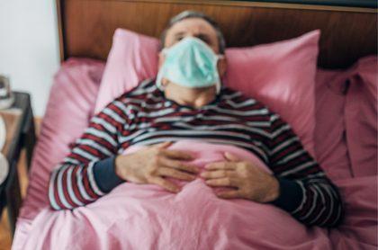Imagen ilujstrativa de enfermos con coronavirus.