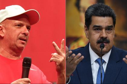 Hugo Carvajal, general (r), y Nicolás Maduro, presidente de Venezuela.