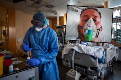 Colombiano con coronavirus en España