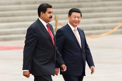 Nicolas Maduro y Xi Jinping