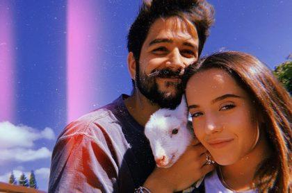 Camilo Echeverry y Evaluna Montaner, cantantes y esposos.