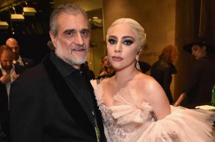 Joe Germanotta y Lady Gaga