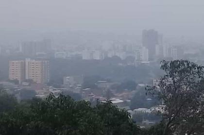 Humo de Veneuela en Cúcuta
