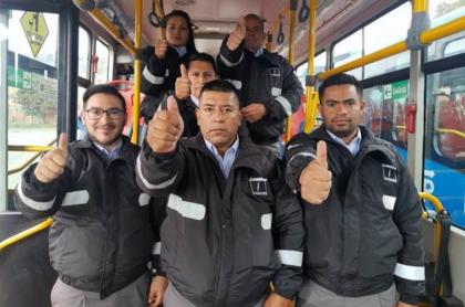 Trabajadores de Transmilenio