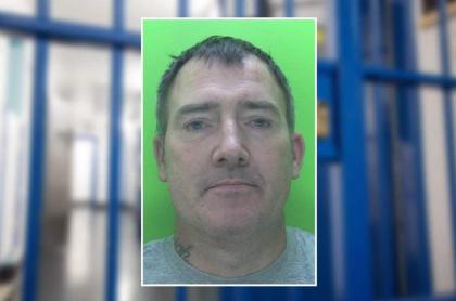 Hombre encarcelado en Inglaterra.