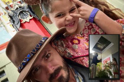 Tatán Mejía y su hija 'Guada'
