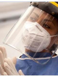 Médicos y enfermeros piden protección para coronavirus