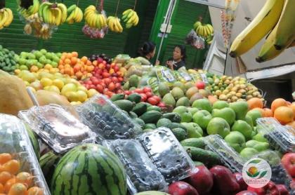 Mercado en Corabastos