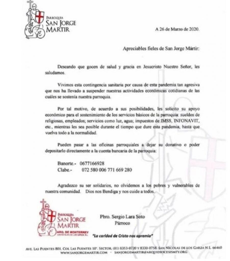 Facebook: Iglesia San Jorge Mártir