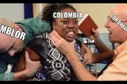Memes temblor 1 de abril en Colombia