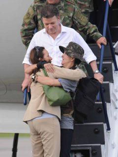 Juan Manuel Santos al culminar operación Jaque