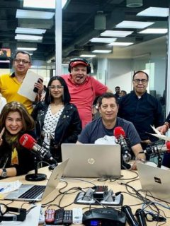 Equipo del programa 'La Luciérnaga'