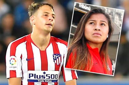 Santiago Arias y Leicy Santos