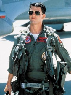 Tom Cruise en 'Top Gun' (1986)