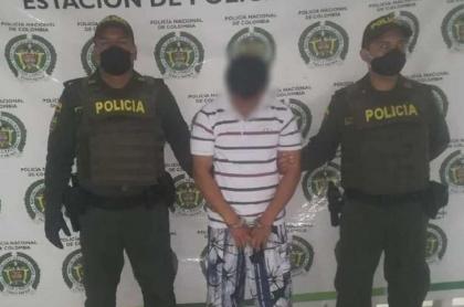 Hombre capturado por violencia intrafamiliar