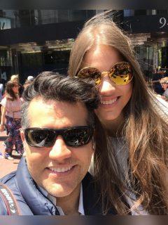 Carlos Calero y Sofía Calero