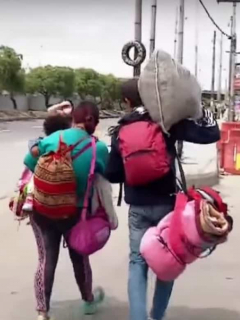 Venezolanos Bogotá