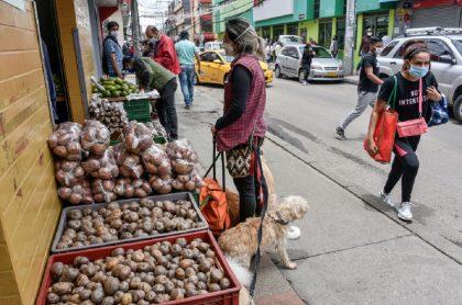 Plaza de mercado, imagen de referencia.