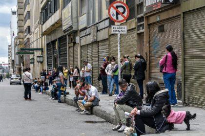 Locales cerrados en Bogotá, imagen de referencia.