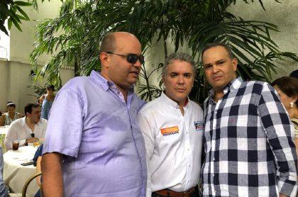 'Goyo' Hernández, Iván Duque y 'Ñeñe' Hernández