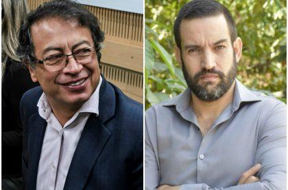 Gustavo Petro y Jaime Restrepo, 'el Patriota'