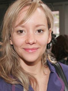 Angélica Blandón, actriz.