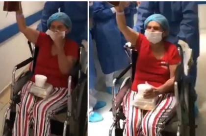 Paciente curada de coronavirus en Santa Marta