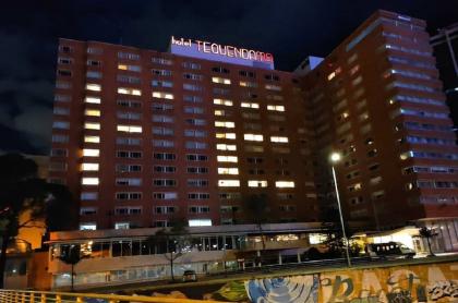 Hotel Tequendama, durante la pandemia de coronavirus COVID-19