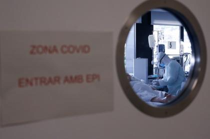 Sala aislada de atención por coronavirus