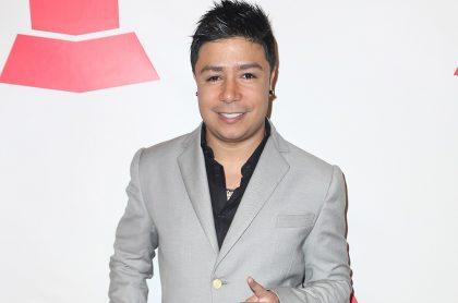 Daniel Calderón, cantante.