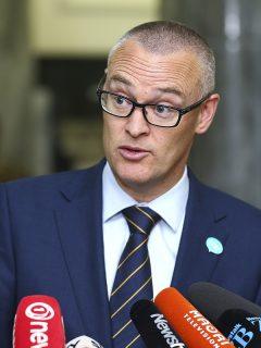 David Clark, ministro de salud de Nueva Zelanda