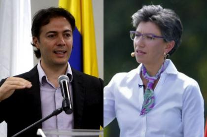 Daniel Quintero y Claudia López