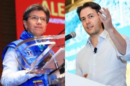 Claudia López y Daniel Quintero