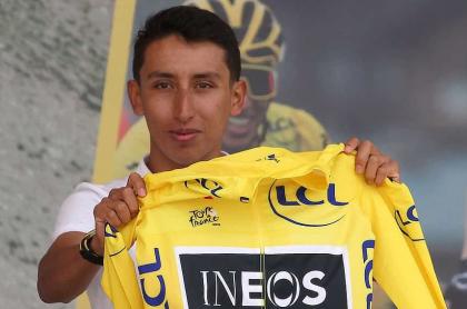 Egan Bernal, candidato de Contador para el Tour