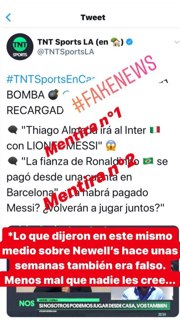 Instagram - Lionel Messi