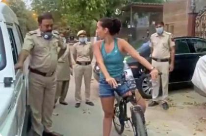Mujer viola cuarentena.