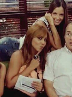 Milena López, Laura Acuña, Tatiana Franco y Jota Mario Valencia, presentadores.